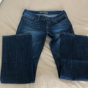 EUC Express jeans size 2R